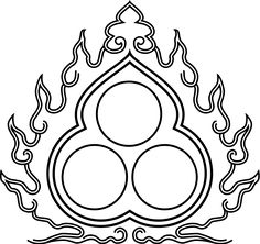 Afbeeldingsresultaat voor three jewels buddha