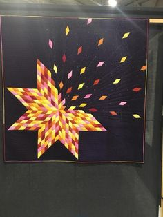 Festival of Quilts 2018 - stitch by stitch individual quilting, . - Festival of Quilts 2018 – stitch by stitch individual quilting, - Quilt Festival, Drunkards Path Quilt, Lone Star Quilt, Star Quilts, 3d Quilts, Scraps Quilt, Easy Quilts, Quilting Fabric, Motifs Applique Laine