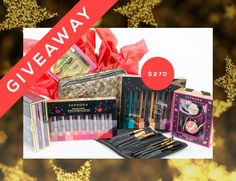 Today's Giveaway! A Jaw-Dropping Sephora Gift Set   | StyleCaster