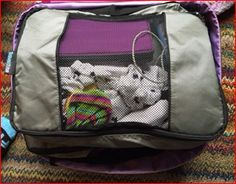 """""""...it was nice knowing where everything was and not having to dig through everything to find one thing."""" #EatSmart TravelWise Packing Cube System #review by #GoneKlippinKrazy. #travel #packingtips"""