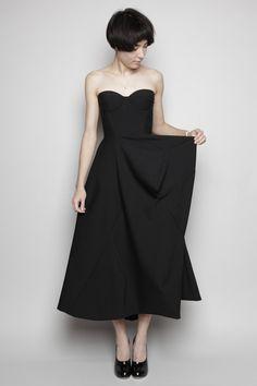 Jil Sander - Madreperla Pleated Dress   So classic