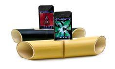 Alto-falantes feitos em uma peça única de bamboo: conheça o iBamboo – Ideia Quente