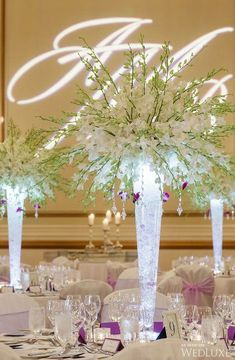 orchid wedding centerpieces wedding flowers - Page 68 of 101 - Wedding Flowers & Bouquet Ideas Orchid Centerpieces, Tall Wedding Centerpieces, Wedding Flower Arrangements, Floral Arrangements, Wedding Bouquets, Wedding Decorations, Centerpiece Ideas, Centrepieces, Floral Wedding