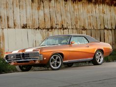 '69 Mercury Cougar..can't wait to finish my baby