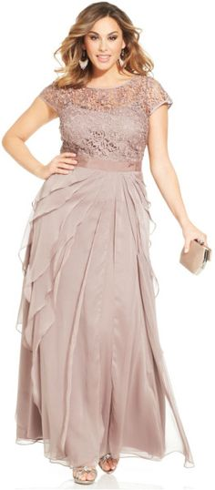 http://www.lyst.com/clothing/adrianna-papell-plus-size-cap-sleeve-lace-tiered-gown-buff-1/