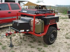 Image result for utility box bed camp trailer