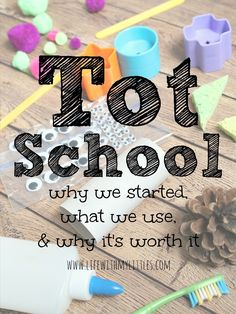 What is Tot School? And Why is it the Perfect Pre-Preschool?