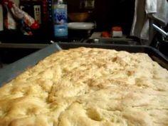 Cocina italiana - Focaccia alla genovese (pt.2)
