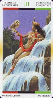 The Empress Name: African American Tarot Creators: Jamal R Publisher: Lo Scarabeo 2007