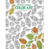 Botanical Wonders Color Art for Everyone - Front Cover