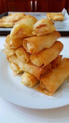 Breakfast Recipes, Snack Recipes, Cooking Recipes, Snacks, Food Network Recipes, Food Processor Recipes, Greek Sweets, Wonderful Recipe, Dinner Rolls
