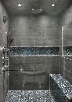 Leslie Hayes Interiors is a full service interior design firm with a focus on residential design, serving the Philadelphia Mainline, Philadelphia area and Florida. Bathroom Design Luxury, Bathroom Layout, Modern Bathroom Design, Master Bathroom Shower, Bathroom Design Inspiration, Home Room Design, Shower Remodel, Tile Ideas, Future