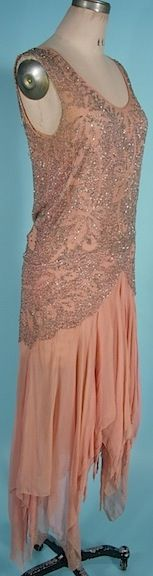 1920s Evening Gown. This page has 22 pictures of the dress including great close-ups!
