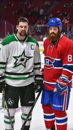 Jamie and Jordie Benn ❤❤ too bad Jordie's wearing the wrong colors Stars Hockey, Ice Hockey, Montreal Canadiens, Jordie Benn, Hockey News, Hockey Pictures, Hockey World, Tyler Seguin, The Other Guys