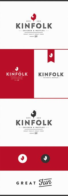 KINFOLK CHICKEN & WAFFLES on Behance