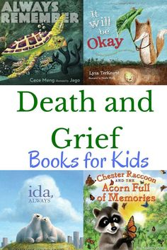 Books for kids about death and grief to help children cope with loss from /growi. - - Books for kids about death and grief to help children cope with loss from /growingbbb/ Grief Counseling, Grief Activities, Health Activities, Sequencing Activities, Baby Activities, Good Books, My Books, Books For Kids, Rational Emotive Behavior Therapy