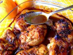 South African Orange Chicken