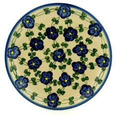 Polish Pottery 7-inch Plate Boleslawiec Stoneware Polmedia H3598B