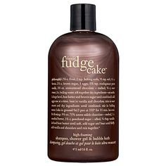 What can possibly beat the warm, sweet smell of chocolate?  Oh yeah, THIS!  Philosophy Classic Fudge Cake™ Shampoo, Shower Gel & Bubble Bath: Shop Body Cleanser | Sephora