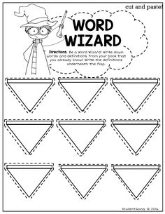 My students love this Word Wizard Vocabulary Builder Freebie! Part of a Reading…