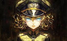 Anime Youjo Senki  Tanya Degurechaff Papel de Parede