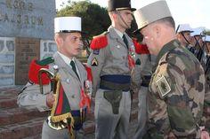 Legionnaire Lestrange bugler inspection