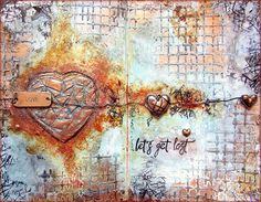 Expressing from my Heart and Soul: Rusted Mixed Media Art Journaling with Artists Live