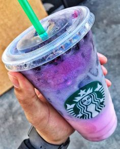 Starbucks Pink Purple Drink
