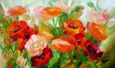 pinturas-decorativas-de-flores-modernas-en-espatula-y-oleo