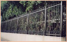 Confounded Wrought Iron Fence Dallas Wrought Iron Fences, Sunroom, Backyard Landscaping, Dallas, Basement, Home Improvement, Entryway, Outdoor Structures, Landscape