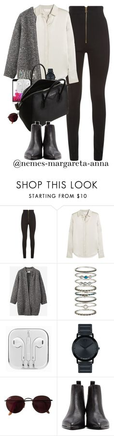 """""""Autumn Lifestyle / Willow Smith - I Am Me"""" by nemes-margareta-anna ❤ liked on Polyvore featuring Balmain, Chloé, Toast, LG, Accessorize, Movado, Ray-Ban and Acne Studios"""
