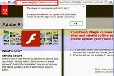 Avez-vous discerner avertissement pop-up Aegisjust.com dans chaque sanction du site? Est cet avertissement pop-up