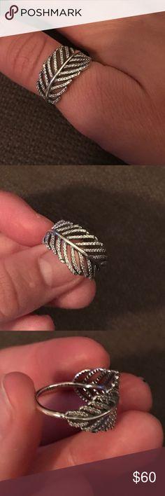 Pandora ring Silver pandora ring size 58 Pandora Jewelry Rings