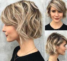 30+ Wavy Short Hair