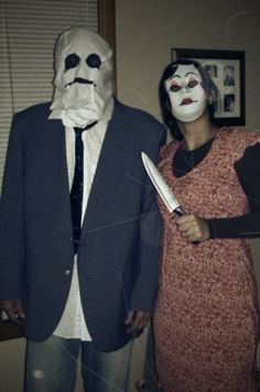 halloween costumes inspired by the scary movie strangers we scared a lot of