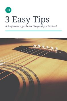 How to play Fingerstyle guitar for Beginners. 3 Easy tips! - Stephen L Smith Learn Guitar Chords, Ukulele Tabs, Learn To Play Guitar, Piano Songs, Guitar Songs, Acoustic Guitar, Music Songs, Fingerstyle Guitar Lessons, Led Zeppelin Songs