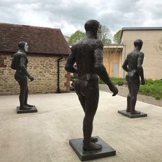 Good day @hauserwirth Really enjoyed Elizabeth Frinks sculptures and drawing. I've grown up with her work the 'Martyrs' up the hill from my family home commissioned the year I was born. There is a lot of emotion and darkness in her work something I have learnt to understand and appreciate now I am older.