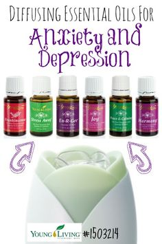 Diffusing Oils for Anxiety and Depression