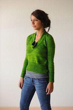 Framed Pullover by KnitBot