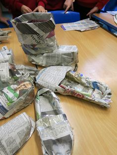 Less people are buying newspapers now, reading news online......thank goodness those that do, are willing to donate them to schools.  In t...