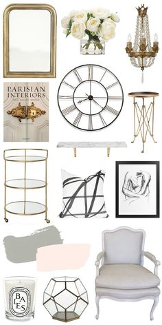 7 Décor Tips to Style Like a Parisian | bright and beautiful | Chicago Fashion + Lifestyle Blog