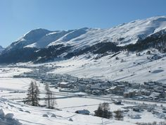 Livigno's valley kissed by the sun.  www.livigno.eu