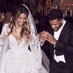 Ciara mariée à Russell Wilson : La bombe partage un premier cliché de ses noces