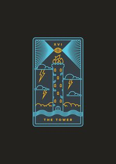 Learn to Use Tarot with our App. Golden Thread Tarot is a modern tarot deck and free companion app with design in mind. We built a modern approach to an ancient tradition. Tarot Card Decks, Tarot Cards, Golden Thread Tarot, The Tower Tarot, Tower Of Babel, Tarot Meanings, Tarot Major Arcana, Oracle Tarot, Free Tarot