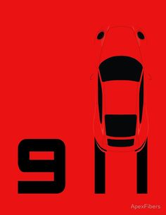 Porsche 911 Burn Out (991)
