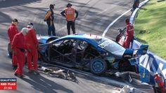 Bathurst 2015 Qualifying Accident - Mostert