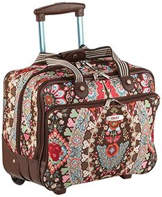 Travel Office Bag On Wheels Brown ** Check out this great product.