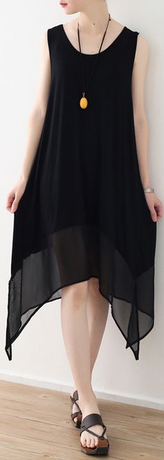 boutique black chiffon dresses asymmetric chiffon maxi dress sleeveless dresses