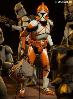 Star Wars: Bomb Squad Clone Trooper, Voll bewegliche Deluxe-Figur ... http://spaceart.de/produkte/sw012.php