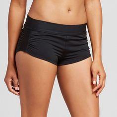 Women's Shortie Bikini Swim Short - Black - L - Mossimo